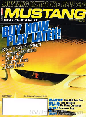 Musclecar Enthusiast March 2004
