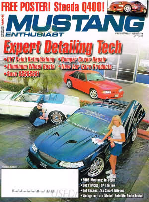 Musclecar Enthusiast July 2004
