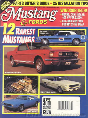 Mustangs & Fords September 1993