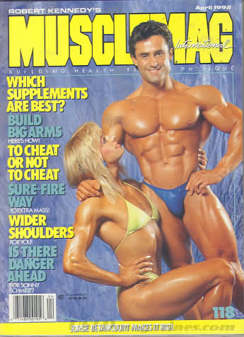 MuscleMag April 1992