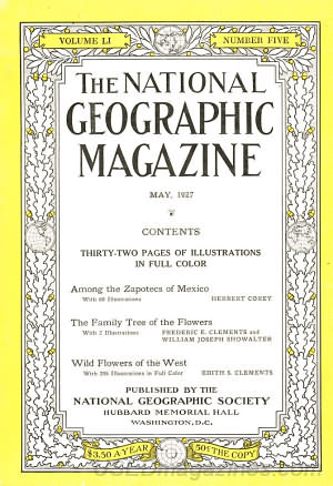 National Geographic May 1927