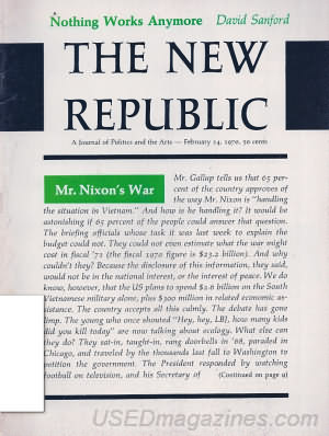 The New Republic February 14, 1970