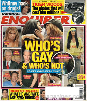 National Enquirer January 11, 2010
