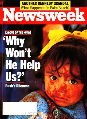 Newsweek April 15, 1991