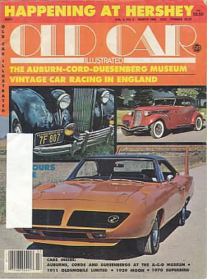 Old Car Illustrated March 1980