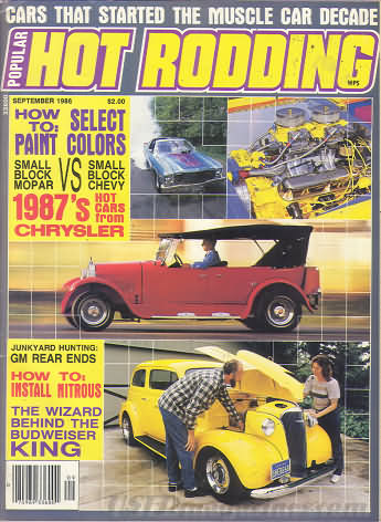 Popular Hot Rodding September 1986