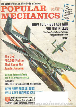 Popular Mechanics January 1968