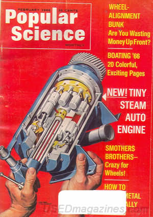 Popular Science February 1966