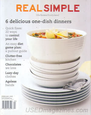 Real Simple February 2002
