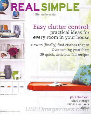 Real Simple October 2007