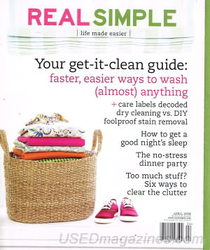 Real Simple April 2008