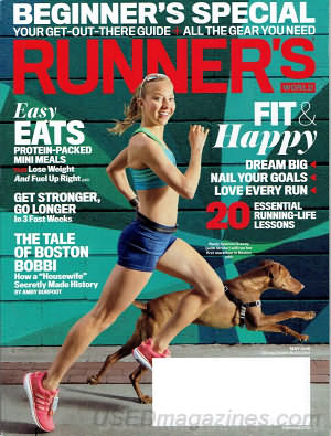 Runner's World May 2016