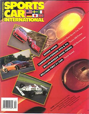Sports Car International February 1992