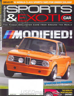 Sports & Exotic Car January 2010