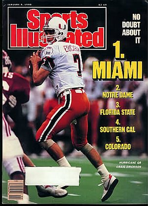 Sports Illustrated January 8, 1990