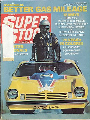 Super Stock & Dragster Illustrated May 1974